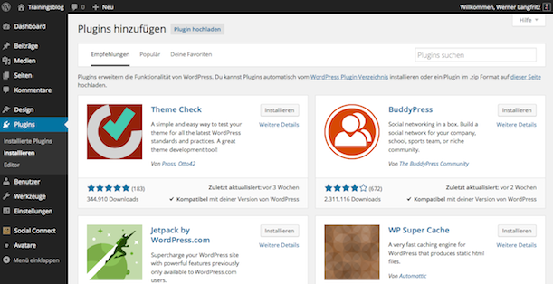 WordPress 4 Plugins